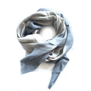 Cashmere Dip Dye Tørklæde - dusk