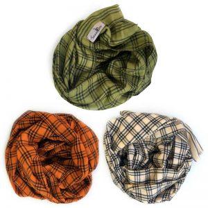 Mønstret Cashmere Tørklæder