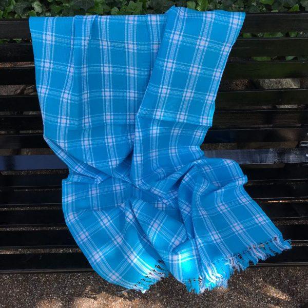 Indisk håndklæde turkis