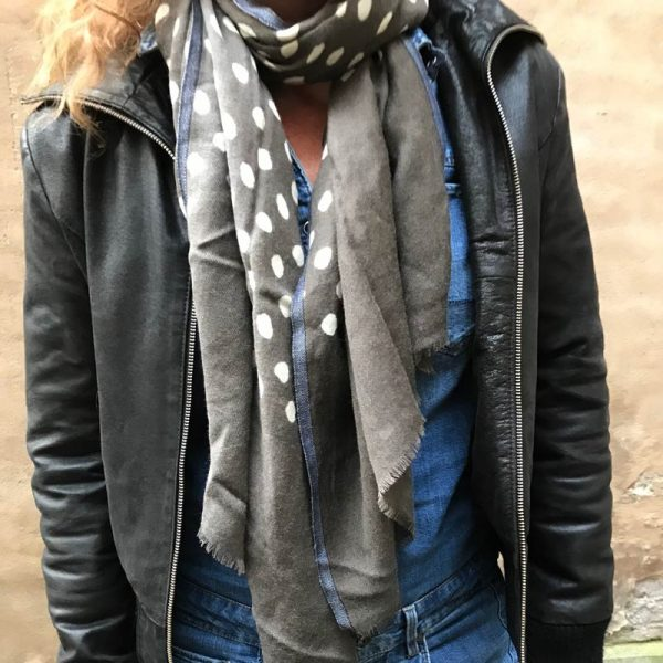 Prikket Retro Tørklæde