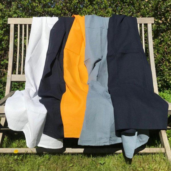Vaffelvævet håndklæder ©SinaiaBee