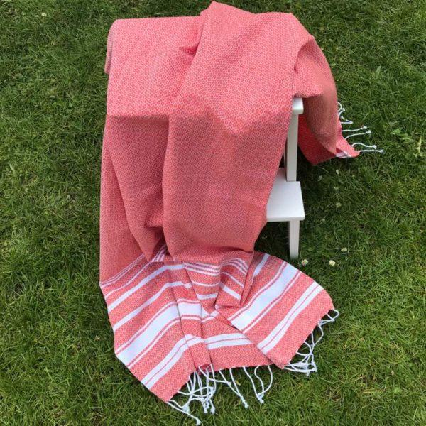 Hamam Håndklæde - rød