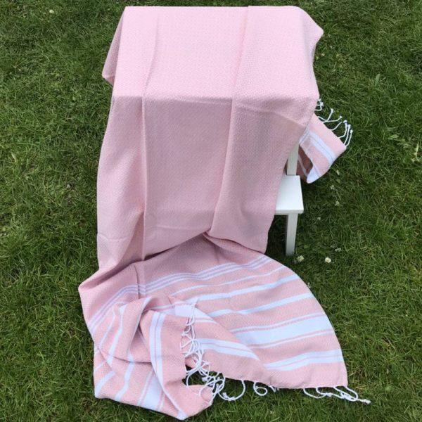 Hamam Håndklæde - rosa