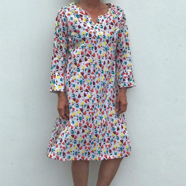 Kurta kjole - Flowery