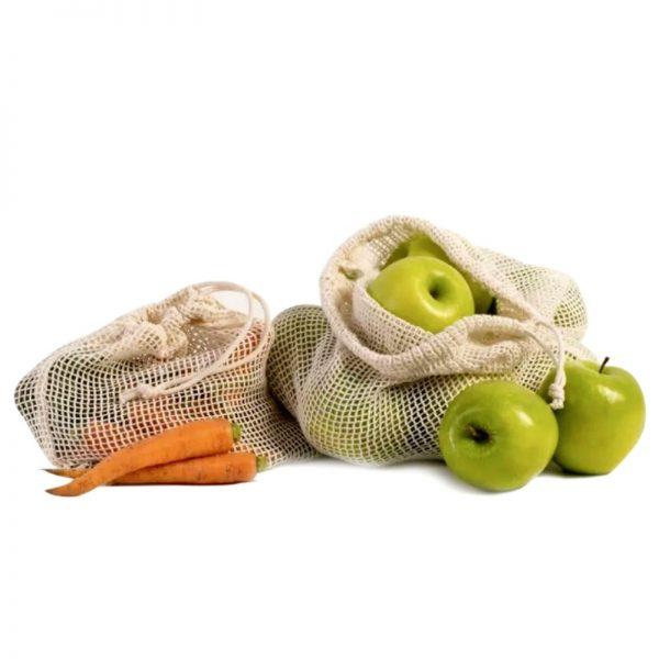 Grøntsagsnet, GOTS-certificeret økologisk